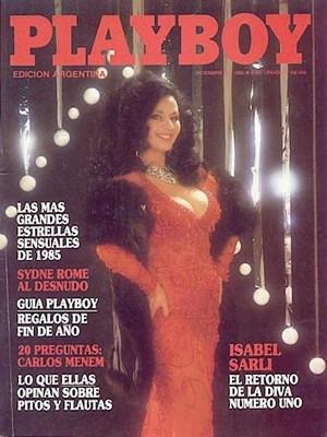 Playboy Argentina - Dec 1985