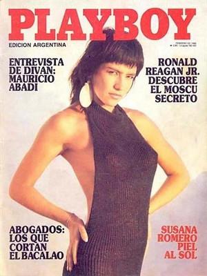 Playboy Argentina - Feb 1986