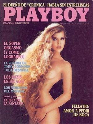 Playboy Argentina - April 1986