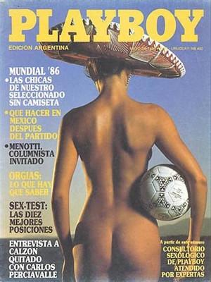 Playboy Argentina - May 1986