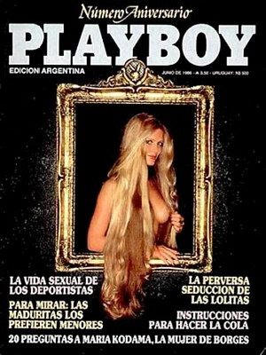 Playboy Argentina - June 1986