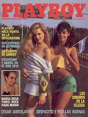 Playboy Argentina - Nov 1986