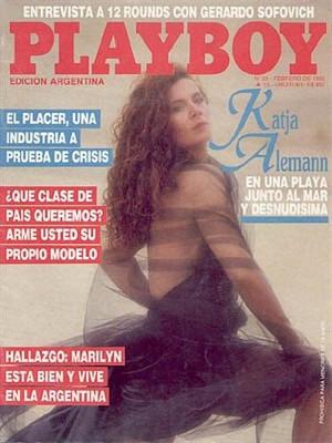 Playboy Argentina - Feb 1988