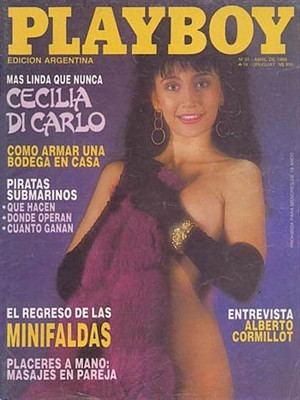 Playboy Argentina - April 1988