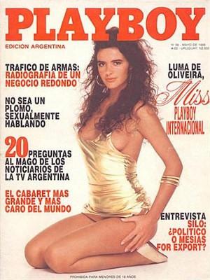 Playboy Argentina - May 1988