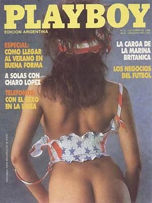 Playboy Argentina - Oct 1988