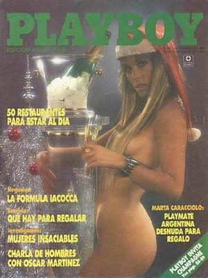 Playboy Argentina - Dec 1988