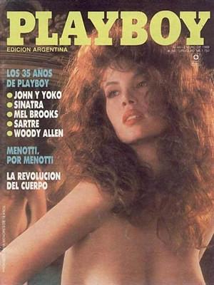 Playboy Argentina - Jan 1989