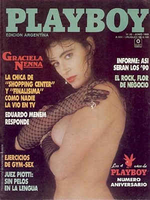 Playboy Argentina - June 1989