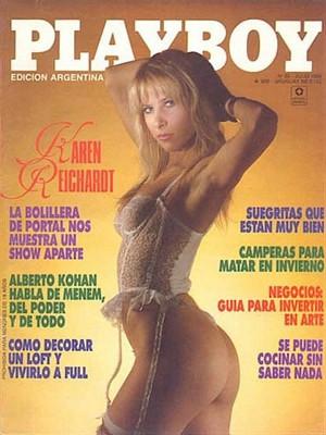 Playboy Argentina - July 1989