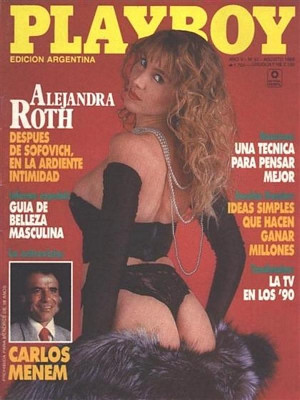 Playboy Argentina - Aug 1989