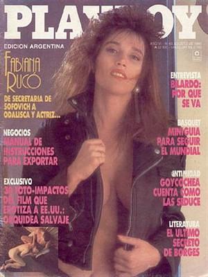 Playboy Argentina - Aug 1990