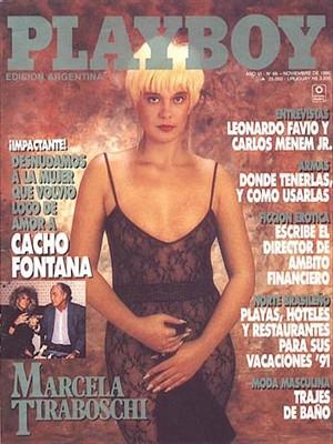 Playboy Argentina - Nov 1990