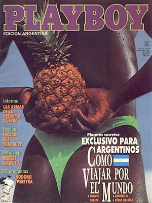Playboy Argentina - Nov 1991