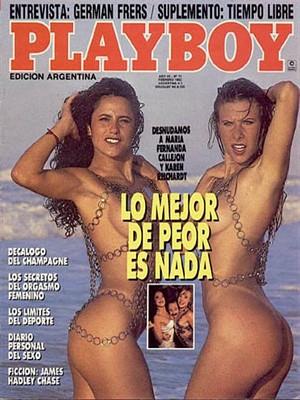 Playboy Argentina - Feb 1992