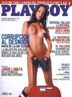 Playboy Argentina - Feb 2008