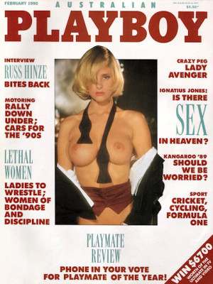 Playboy Australia - Feb 1990