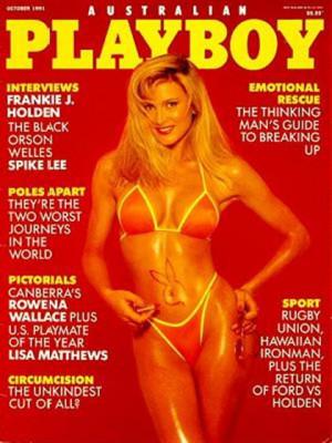 Playboy Australia - Oct 1991
