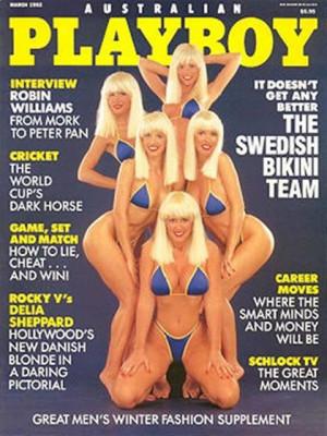 Playboy Australia - Mar 1992