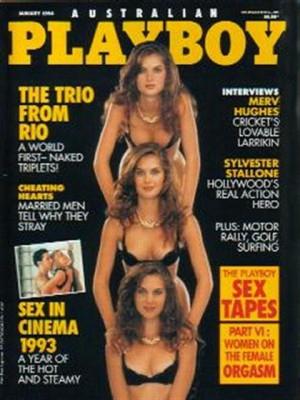 Playboy Australia - Jan 1994