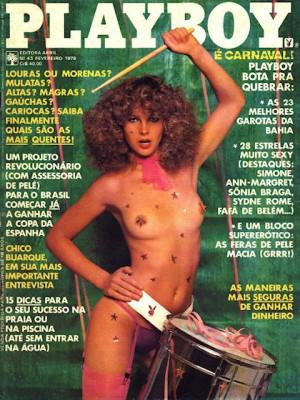 Playboy Brazil - Feb 1979