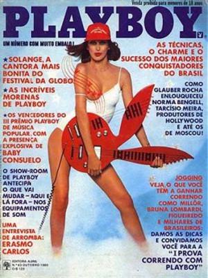 Playboy Brazil - Oct 1980