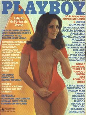 Playboy Brazil - Jan 1981