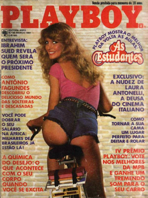 Playboy Brazil - March 1981