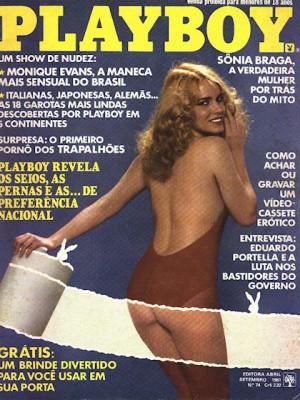 Playboy Brazil - Sep 1981