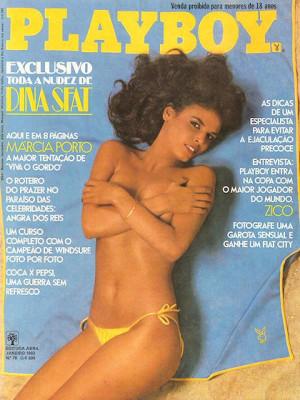 Playboy Brazil - Jan 1982