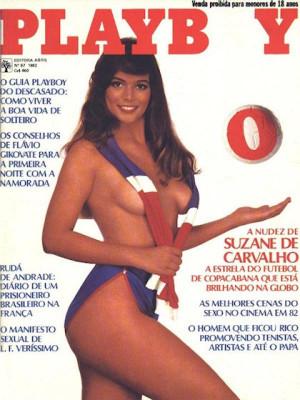 Playboy Brazil - Oct 1982