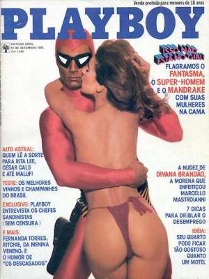 Playboy Brazil - Sep 1983