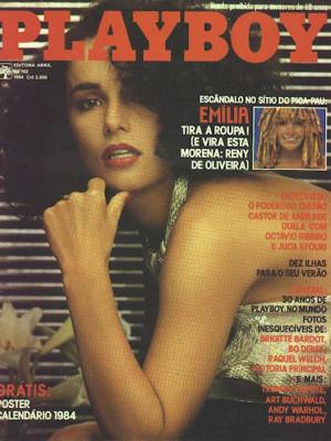 Playboy Brazil - Jan 1984