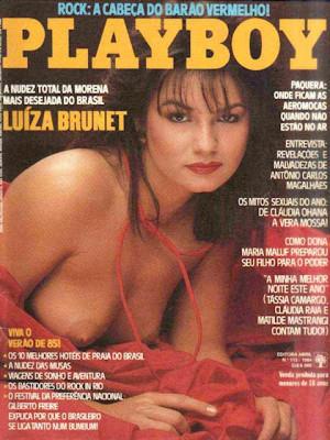 Playboy Brazil - Dec 1984