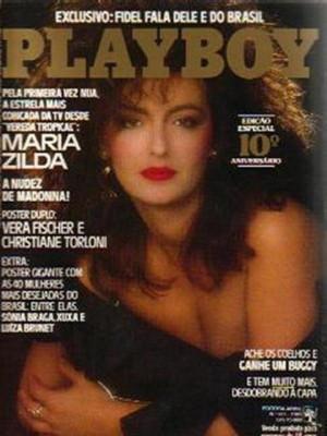 Playboy Brazil - August 1985