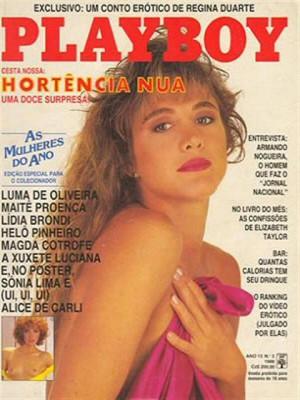 Playboy Brazil - Feb 1988