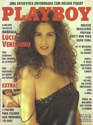 Playboy Brazil - April 1988