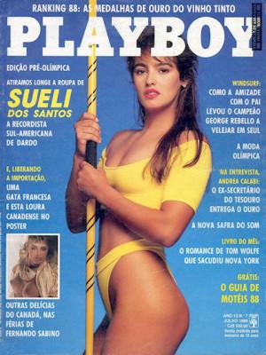 Playboy Brazil - July 1988