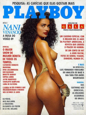 Playboy Brazil - Jan 1989