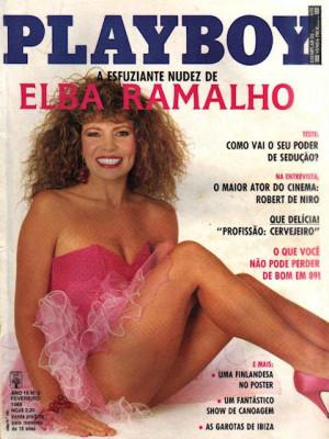 Playboy Brazil - Feb 1989