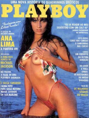 Playboy Brazil - April 1989