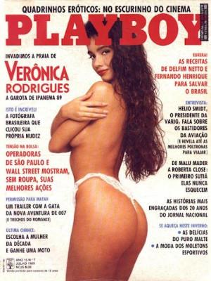 Playboy Brazil - July 1989