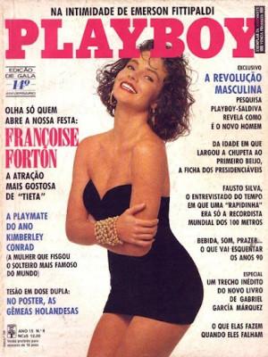 Playboy Brazil - August 1989