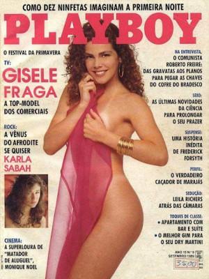 Playboy Brazil - Sep 1989