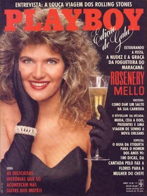 Playboy Brazil - Nov 1989