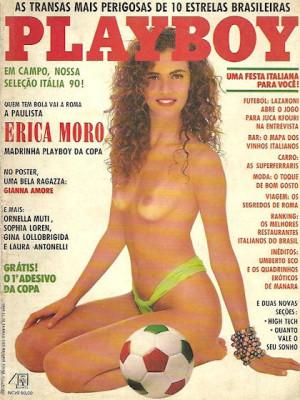 Playboy Brazil - Jan 1990