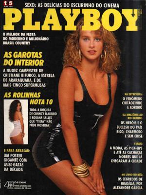 Playboy Brazil - April 1990