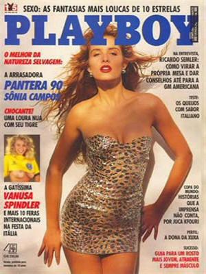 Playboy Brazil - June 1990