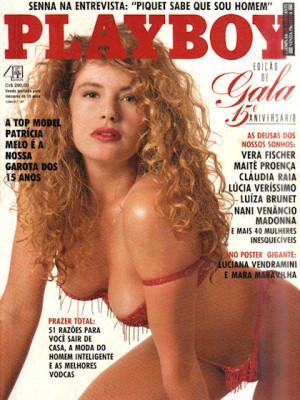Playboy Brazil - August 1990