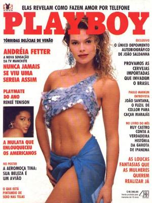 Playboy Brazil - Oct 1990